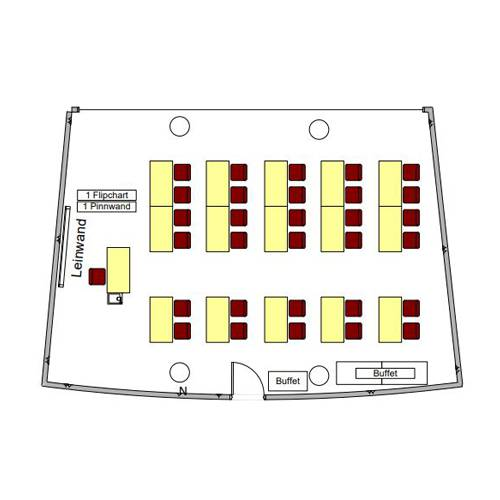 Room no. 2 Map